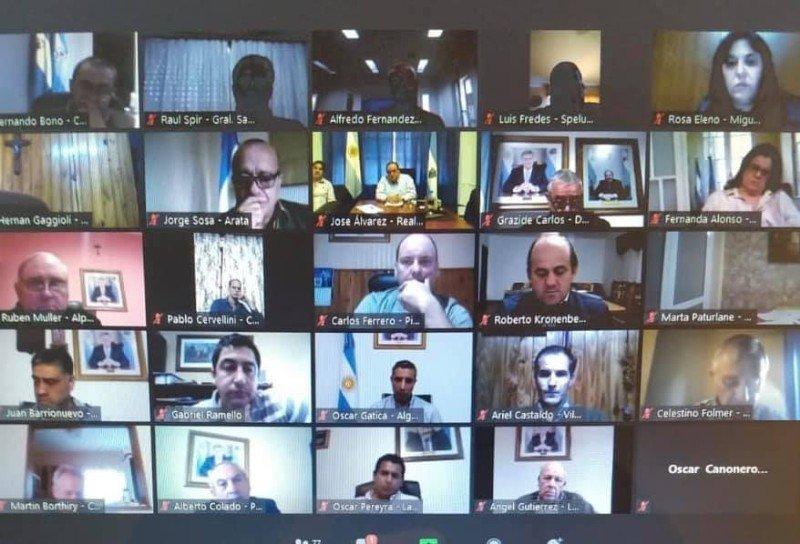 Analizan apertura de otras actividades: Luis Fredes en videoconferencia con el gobernador