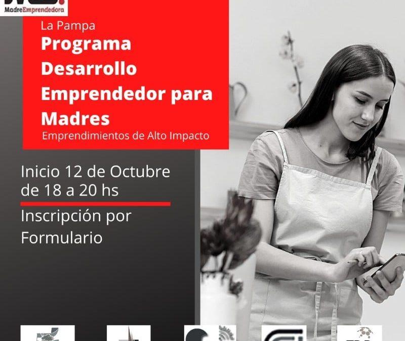 Programa Desarrollo Emprendedor para Madres 2020 – La Pampa